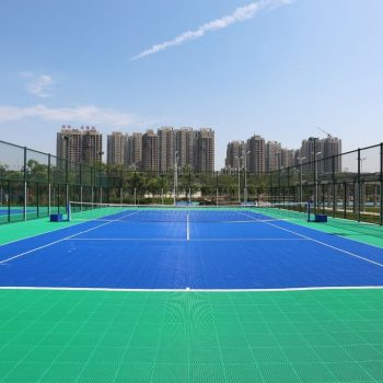 Double layer court