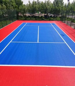 Double layer tennis